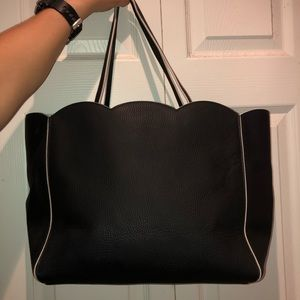 Black Leather Kade Spade